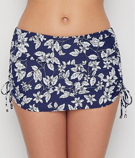 Birdsong Moonflower Skirted Bikini Bottom in Moonflower S20156-MNFL
