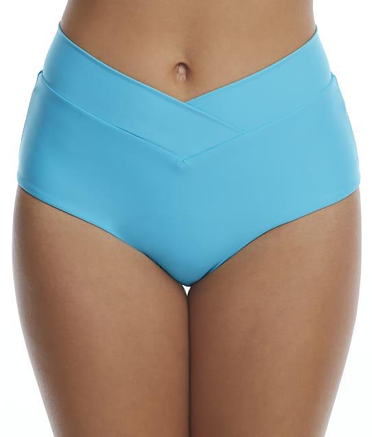Birdsong Aqua Breeze Retro Full Bikini Bottom in Aqua Breeze S20179-AQBRZ