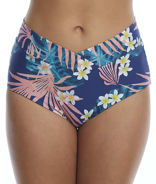 Birdsong Laguna Retro Full Bikini Bottom in Laguna S20179-LAGUN