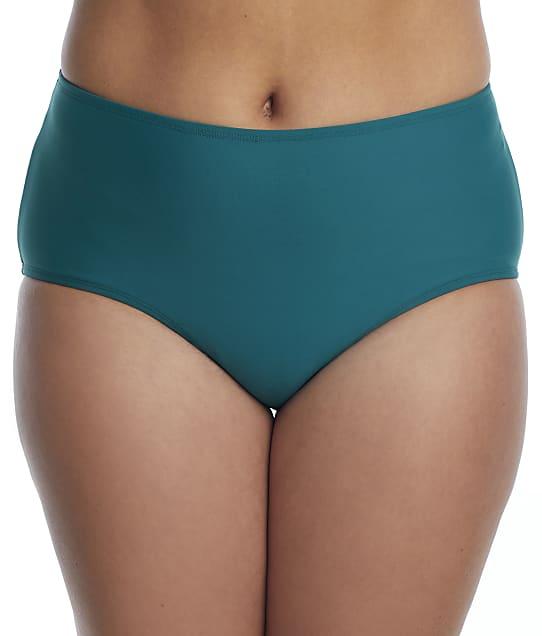 Birdsong Plus Size Palmetto Basic Bikini Bottom in Palmetto S40160P-PALM