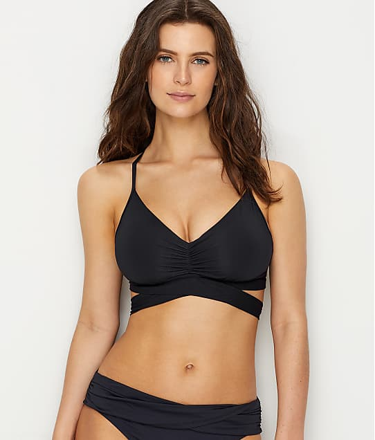 Bleu Rod Beattie: Kore Wrap Bikini Top D-Cups