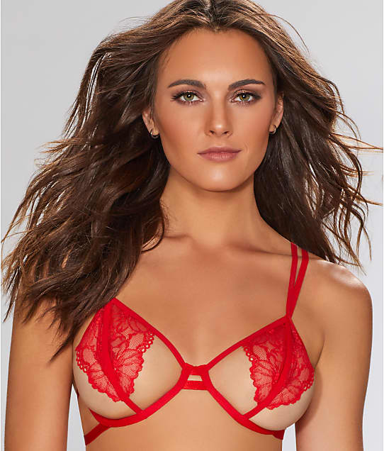 3672a783408 Bluebella Emerson Open Cup Demi Bra