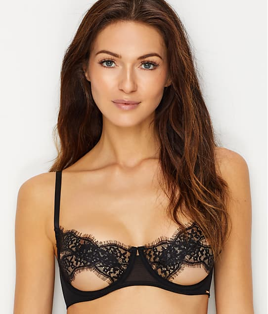 Tiana Lace Open Cup Bra by Bluebella