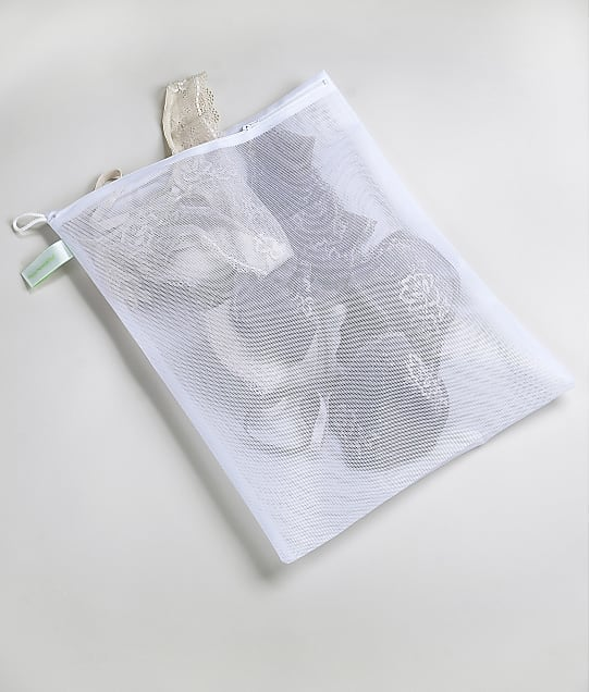 Bare Necessities Small Lingerie Wash Bag in White(Front Views) BN1000