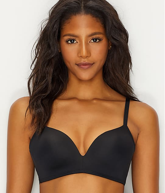 4161c56501 b.tempt d by Wacoal Tied In Dots Wire-Free Push-Up Bra