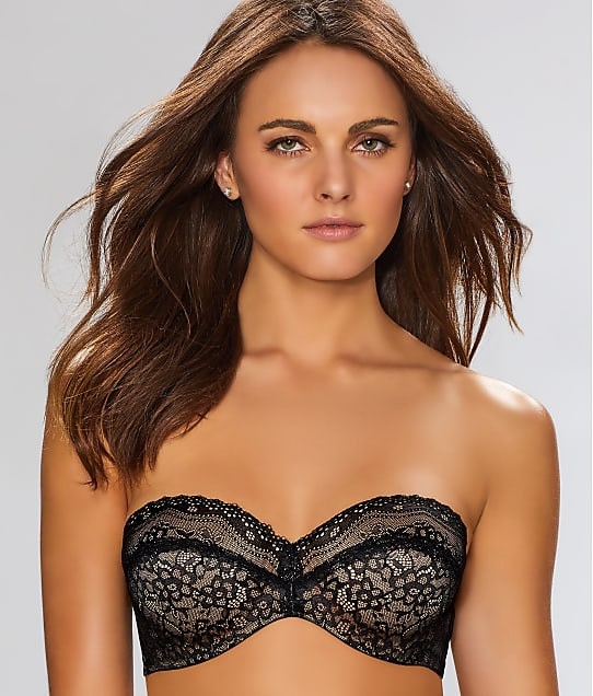 b.tempt'd by Wacoal b.enticing Strapless Bra in Night 954237
