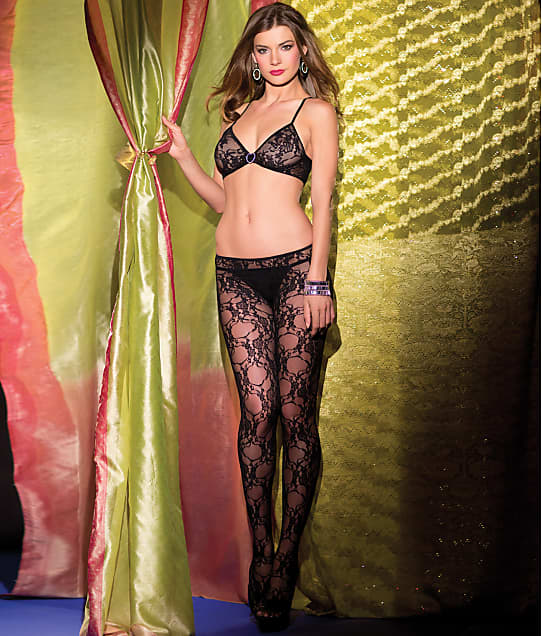 Be Wicked: Floral Lace Crotchless Bodystocking