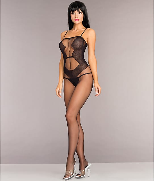 Be Wicked: Sheer Crotchless Bodystocking
