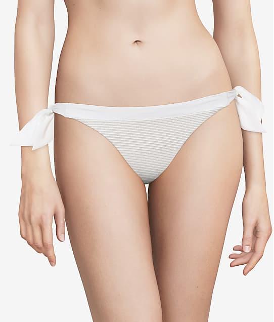 Chantelle Vibrant Side Tie Bikini Bottom in White Lurex C15C90