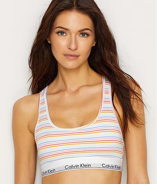 Calvin Klein: Modern Cotton Racerback Bralette