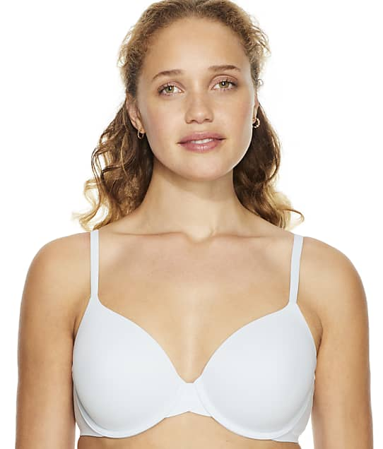 Calvin Klein Perfectly Fit Modern T-Shirt Bra in Polished Blue(Front Views) F3837
