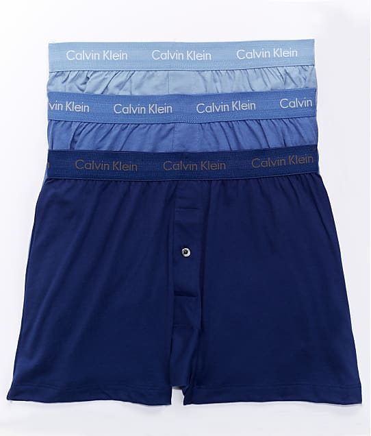 Calvin Klein: Cotton Knit Boxer 3-Pack