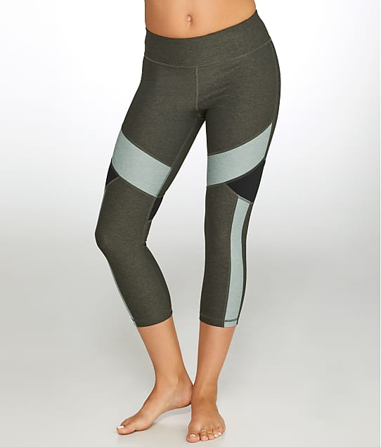 Calvin Klein: Colorblock Crop Compression Leggings