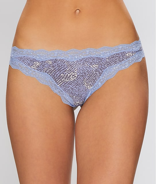 Calvin Klein: Cotton With Lace Thong