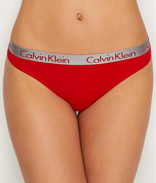 Calvin Klein: Radiant Cotton Thong