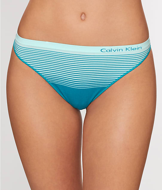 Calvin Klein: Pure Seamless Illusion Ombre Thong