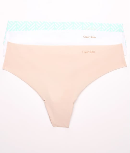 Calvin Klein: Invisibles Thong 3-Pack