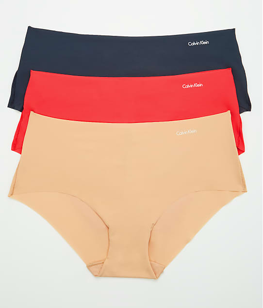 f1c40d6945 Calvin Klein Invisibles Hipster 3-Pack | Bare Necessities (QD3559)
