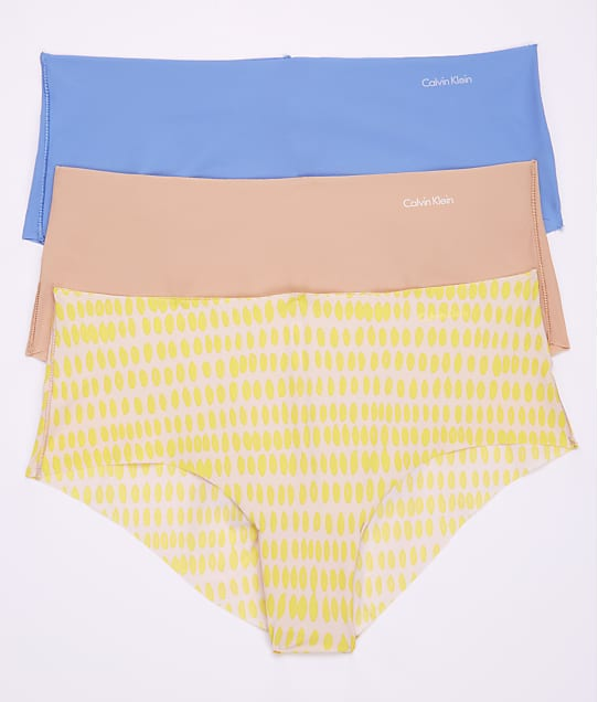 Calvin Klein: Invisibles Hipster 3-Pack