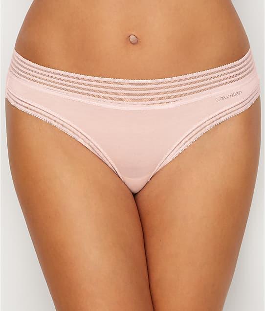 Calvin Klein Modal Thong in Nymphs Thigh QD3670