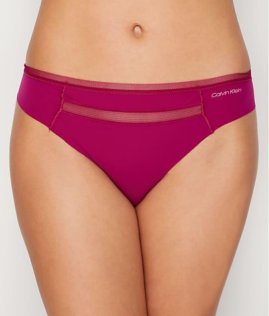 Calvin Klein: Mesh Trim Invisibles Thong