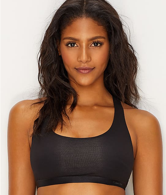 Calvin Klein: Black Structure Cotton Bralette