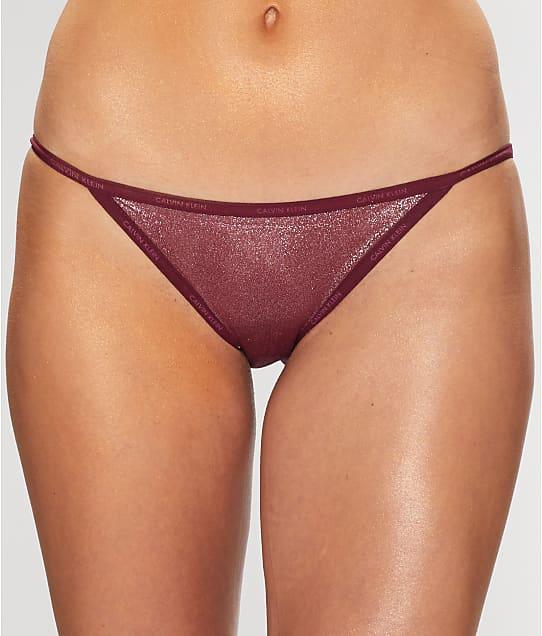 Calvin Klein: Marquisette Shimmer Bikini