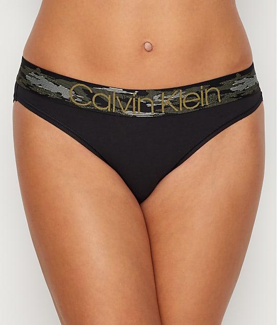 Calvin Klein: Camo Cotton Bikini