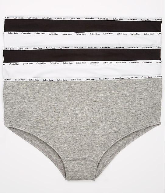 Calvin Klein: Plus Size Signature Cotton Hipster 5-Pack
