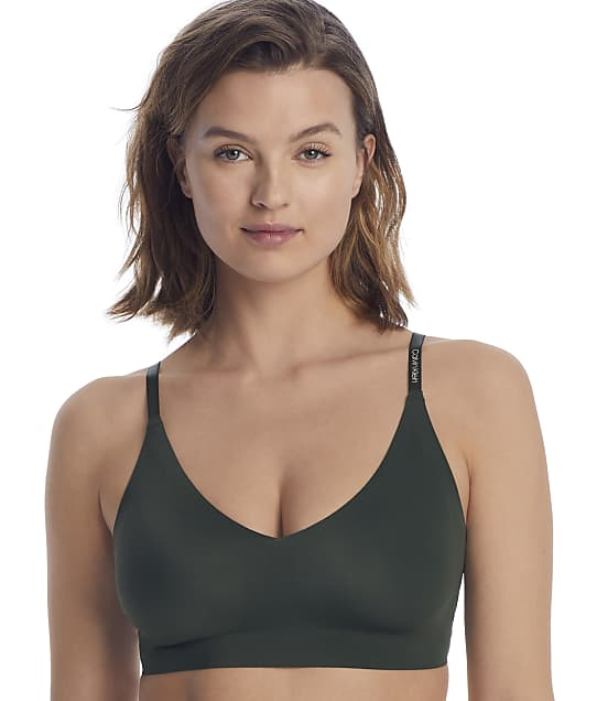 Calvin Klein Invisibles Convertible Bralette in Duffle Bag QF5753