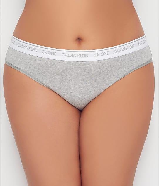 Calvin Klein: Plus Size CK One Cotton Bikini