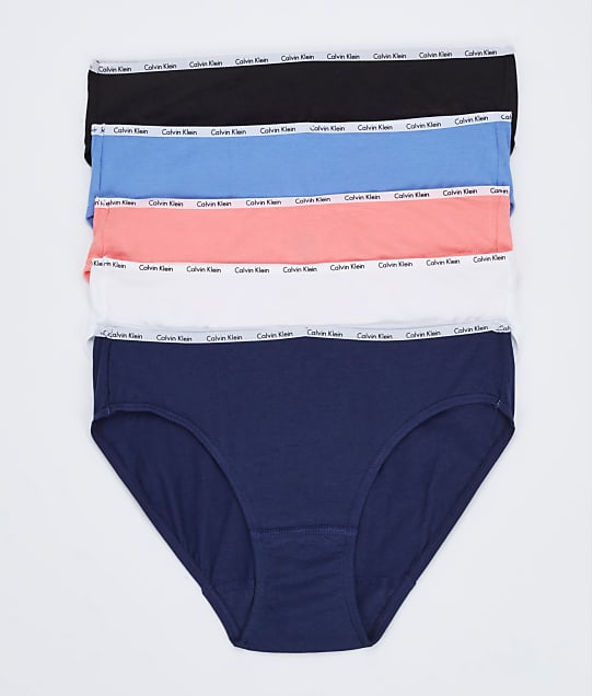 Calvin Klein: Cotton Stretch Bikini 5-Pack