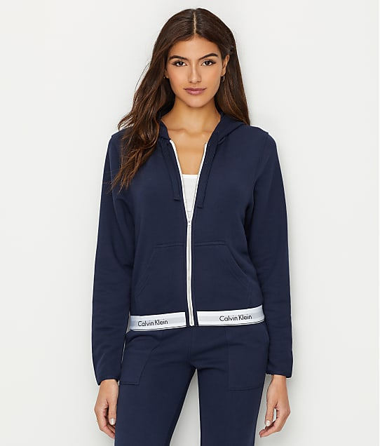 Calvin Klein: Modern Cotton Lounge Zip-Up Hoodie