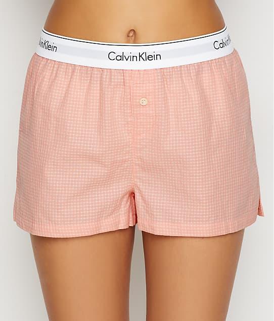 Calvin Klein Woven Cotton Sleep Shorts  d17413fc0