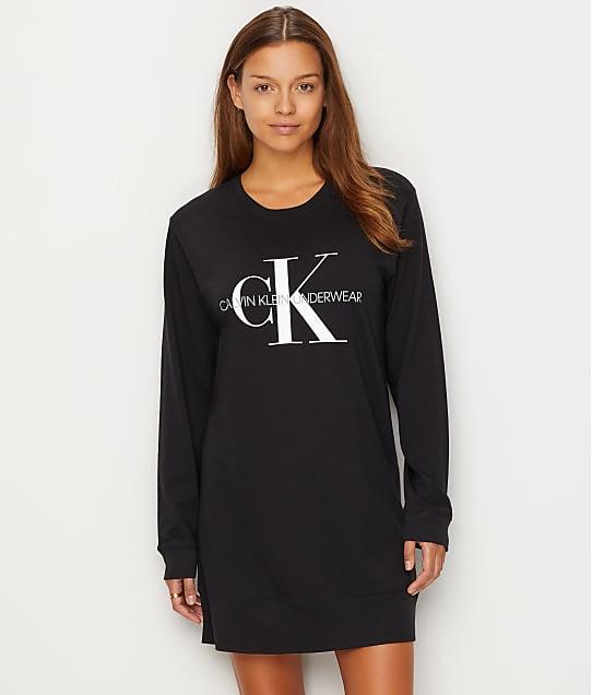 Calvin Klein: Monogram Cotton Sleep Shirt