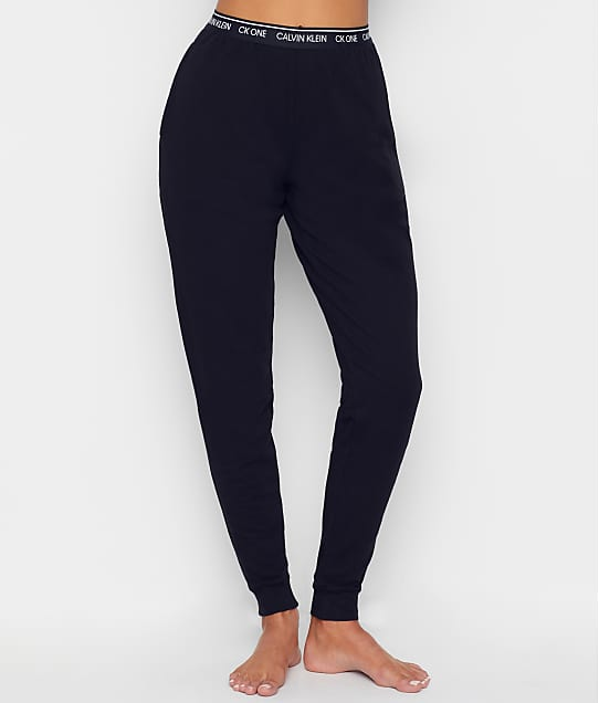 Calvin Klein Knit Jogger Pants in Black QS6429