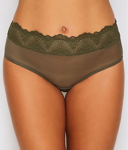 Camio Mio: Mesh and Lace Hipster