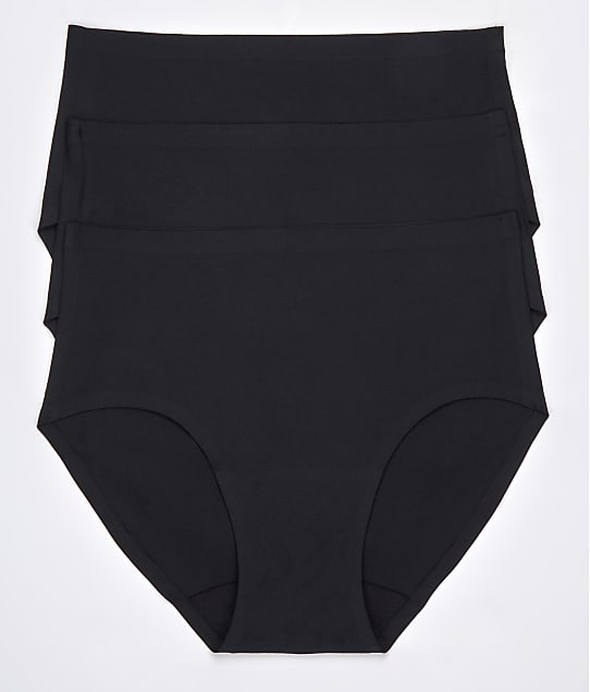 Chantelle Soft Stretch Hipster 3-Pack in Black 1004