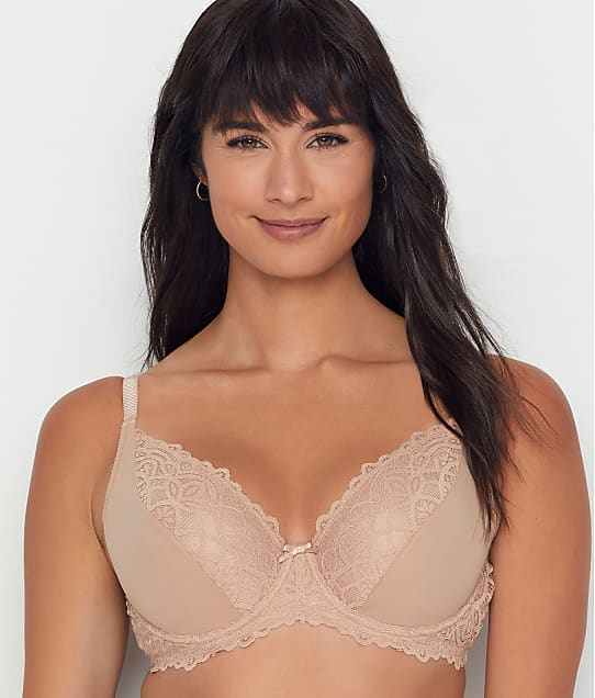 Charnos Rhapsody Plunge Bra in Cappuccino(Front Views) 182500