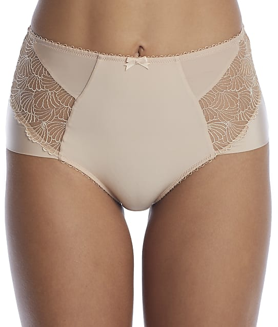 Charnos Ophelia High-Waist Brief in Cashmere(Front Views) 183714