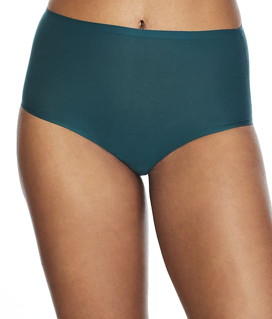 Chantelle Soft Stretch Full Brief in Sequoia(Front Views) 2647