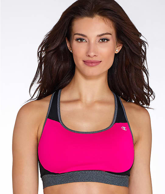 Champion: Mid-Impact Compression Sports Bra