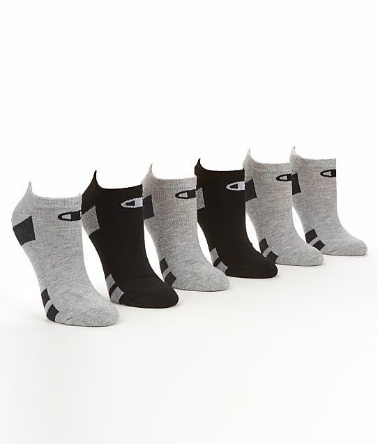 Champion: Core Performance No Show Socks 6-Pack