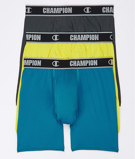 Champion: Active Performance Boxer Brief  3-Pack