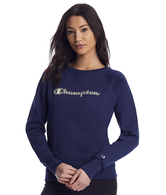 Champion: Powerblend Boyfriend Crew Sweatshirt