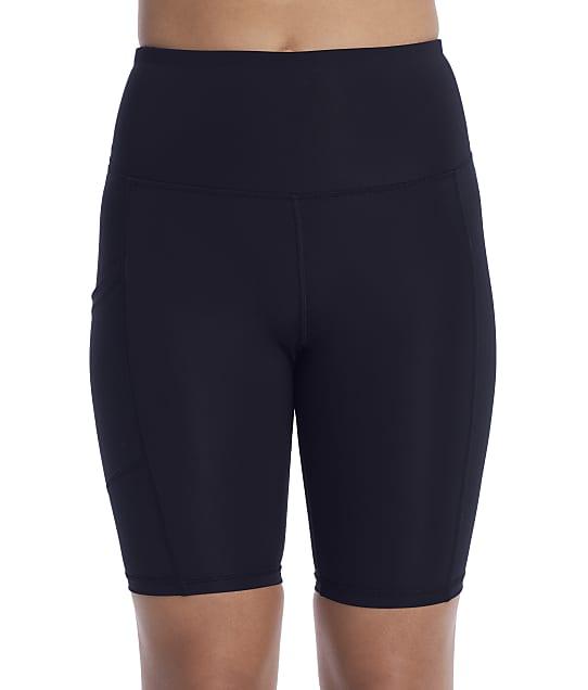 Champion Sport Bike Shorts in Black(Front Views) M7489