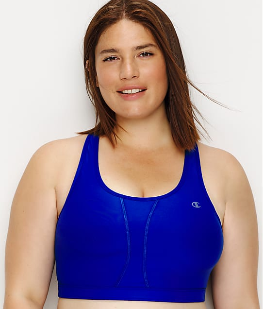 Champion Plus Size Vented Wire Free Mid Impact Sports Bra