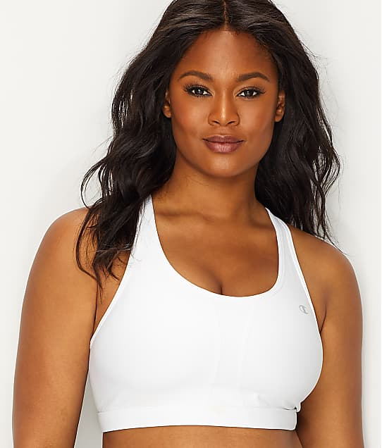 Champion: Plus Size Vented Wire-Free Mid-Impact Sports Bra