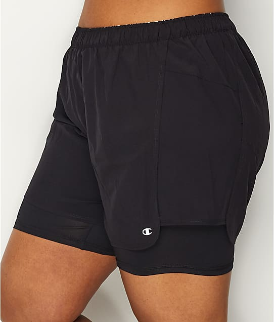 Champion: Plus Size 2 In 1 Shorts