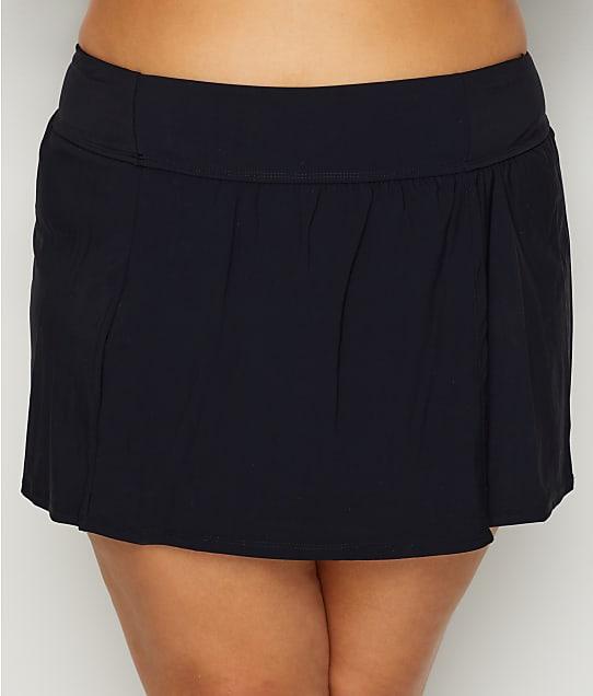 Christina: Plus Size Solid Skirted Bikini Bottom